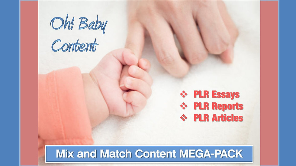 Oh! Baby Mix and Match CONTENT Collection