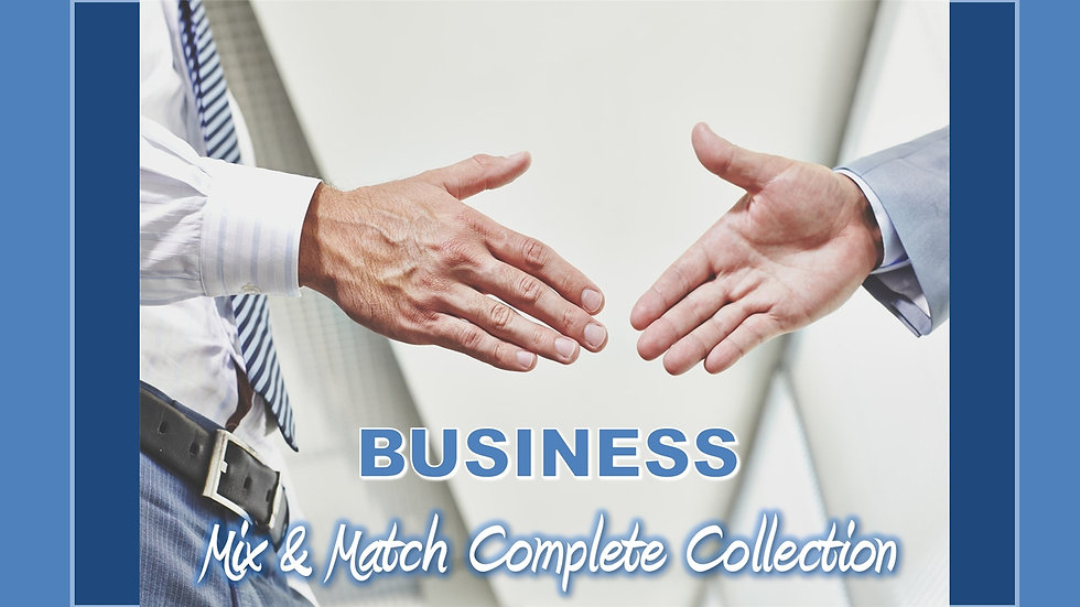 Business Mix and Match COMPLETE Collection