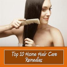 TOP 10 HOME HAIR CARE REMEDIES