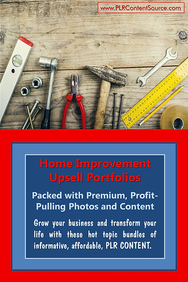 Home Improvement Upsell Content Collection