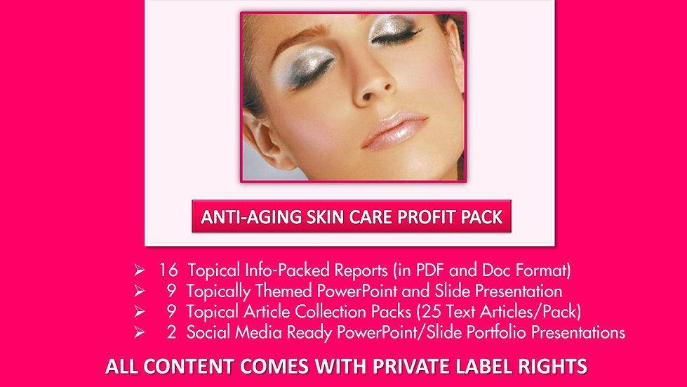 Anti-Aging Skin Care Private Label Profit Pack