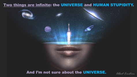 Two Things Are Infinite