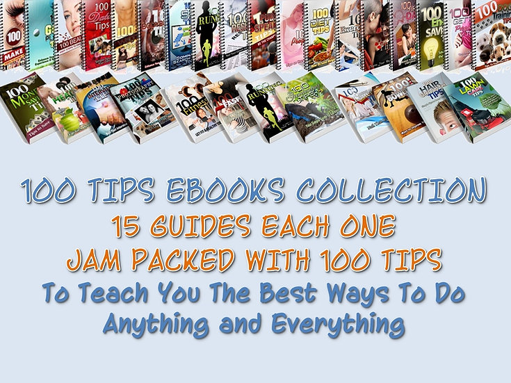 100 Tips Niche eBooks Collection