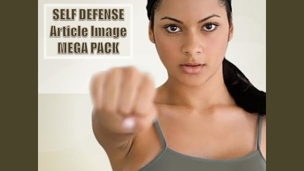 Self Defense PLR Article and Image MEGA Pack