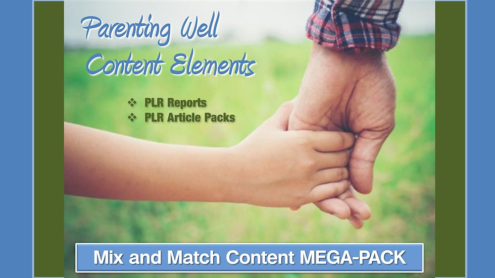 Parenting Well Mix and Match CONTENT Collection