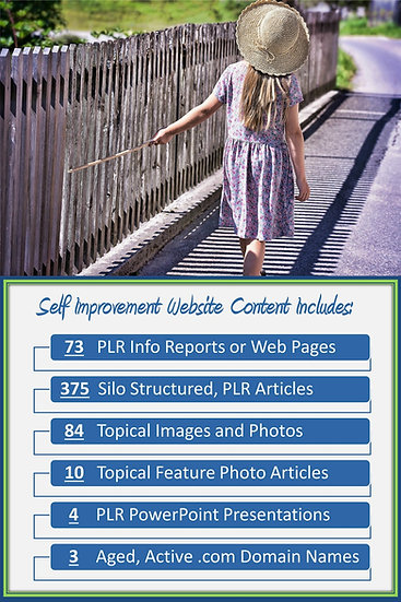 Self Improvement Turnkey Content Sites