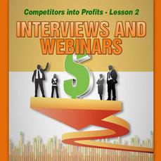 INTERVIEWS AND WEBINARS REPORT