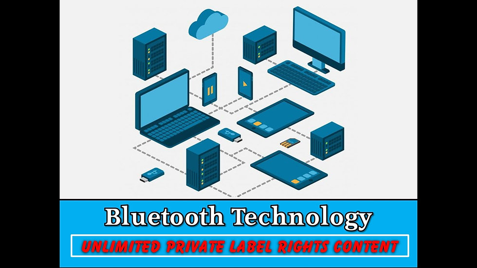 Bluetooth Technology Private Label Content Pack