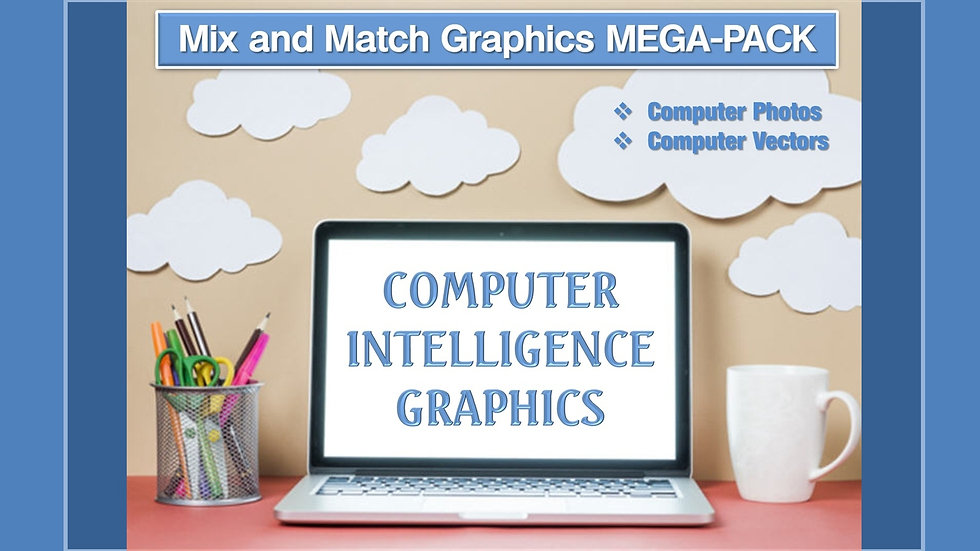 Computer Intelligence Mix and Match GRAPHICS Collection