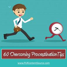 60 OVERCOMING PROCRASTINATION TIPS