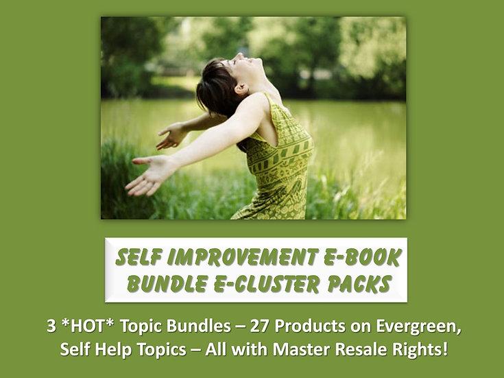 Self Improvement eBook Bundle eCluster Packs
