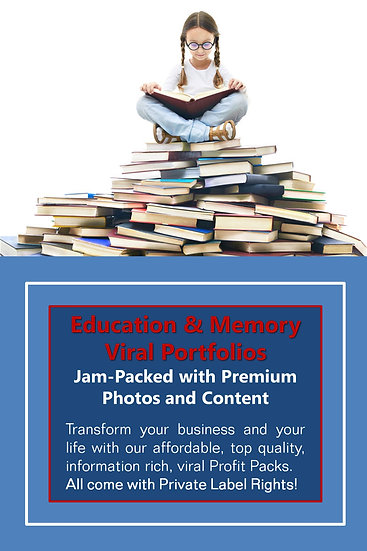 Education and Memory Niche Domination Pack
