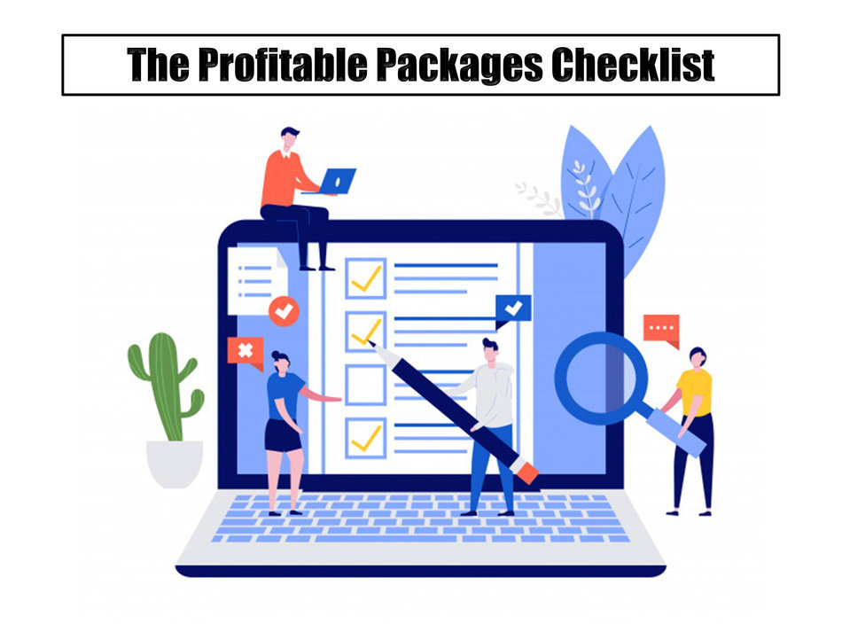 The Profitable Packages Checklist