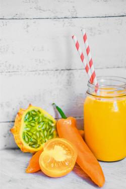 Rustic fruits, oranges