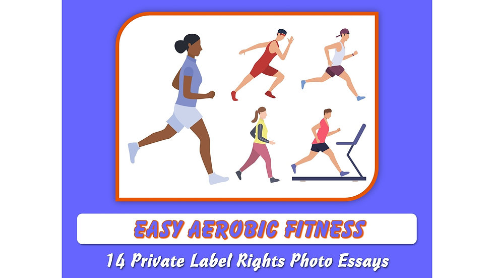 Easy Aerobic Fitness Private Label Content Pack