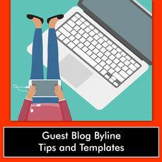 GUEST BLOG BYLINE TIPS & TEMPLATE