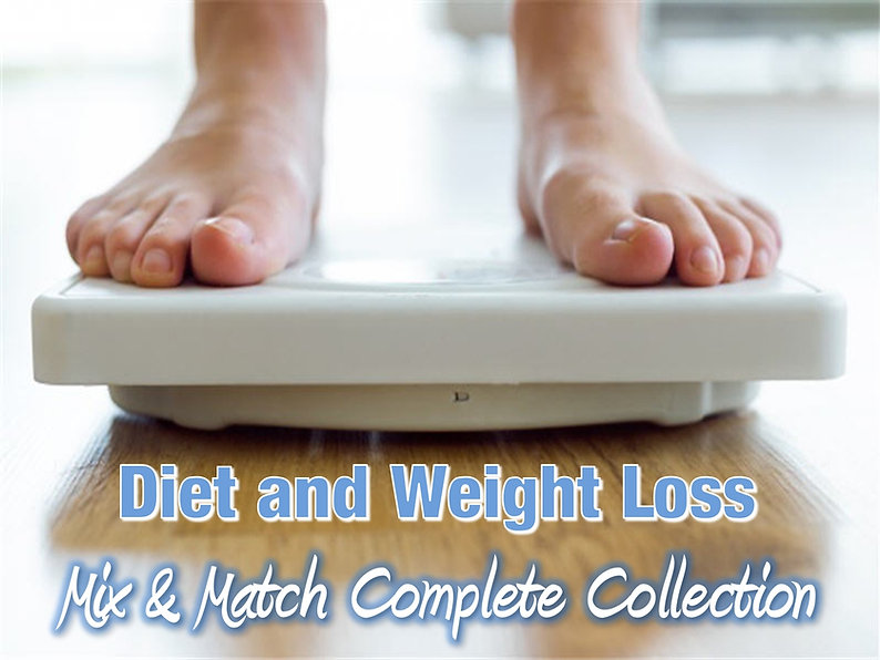 Diet and Weight Loss PLR Content Collection