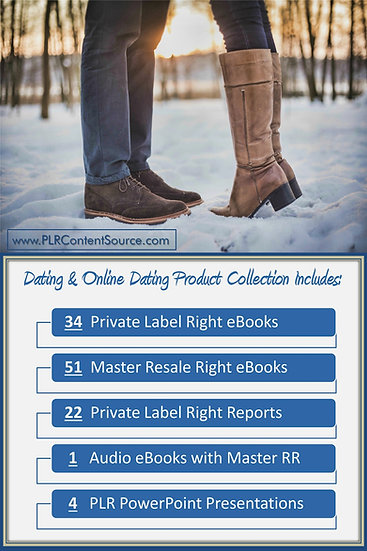 Dating and Online Dating Product Profit Packs