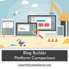 BLOG BUILDER PLATFORM COMPARISON