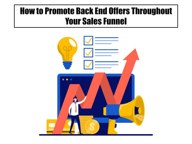 How to Promote Backend Offers Throughout Your Sales Funnel