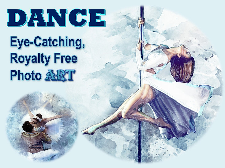 DANCE Photo Art Collection