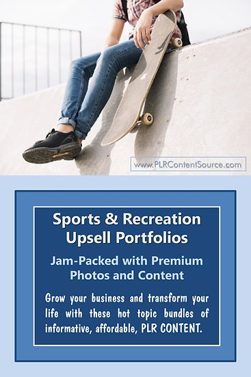 Sports and Recreation Upsell Content Collection