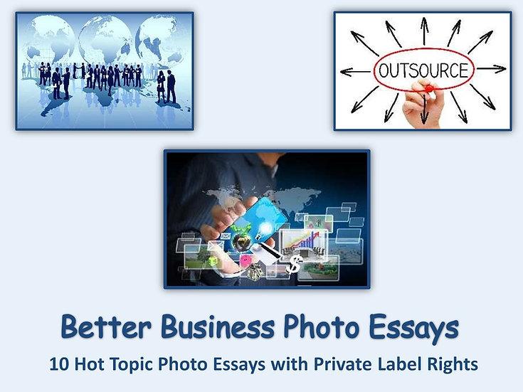 10 PLR Better Business Photo Essays