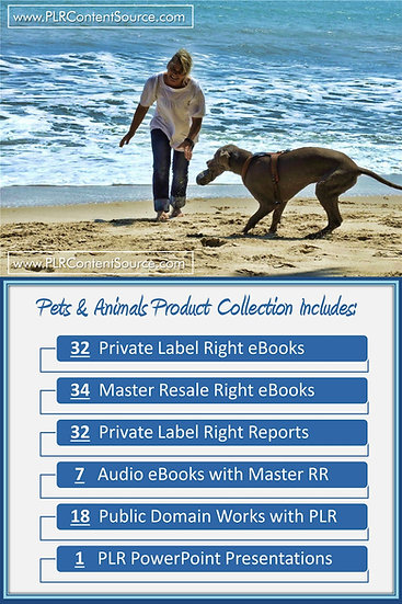 Pets and Animals Product Profit Packs