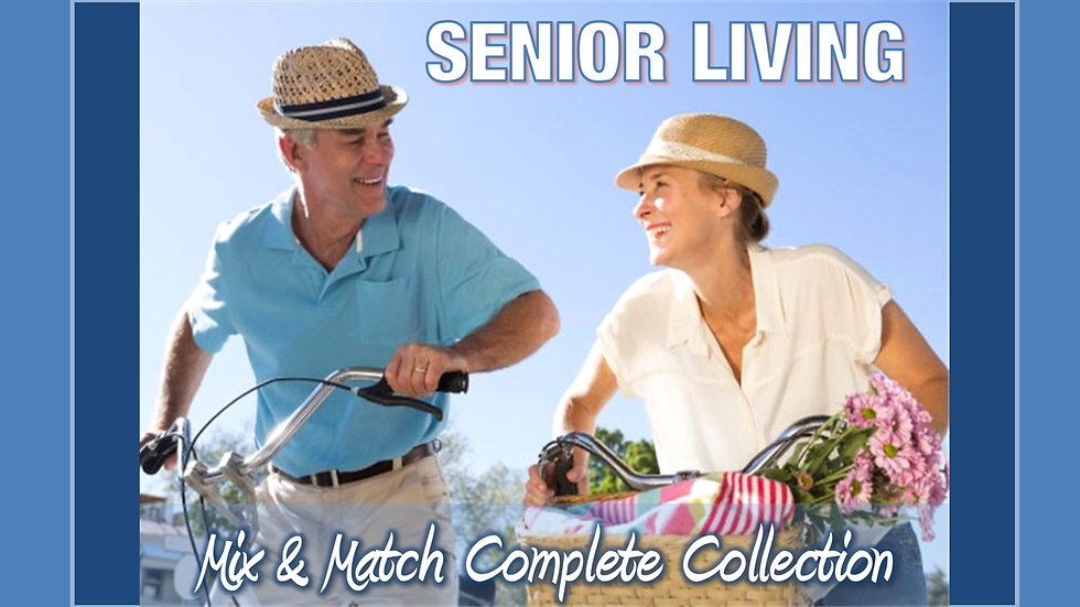 Senior Living Mix and Match COMPLETE Collection
