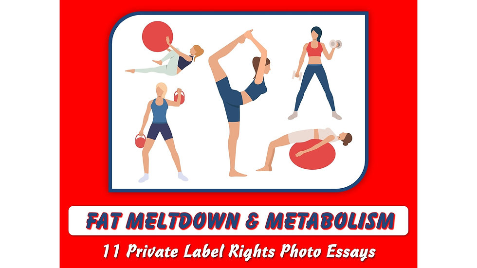 Fat Meltdown and Metabolism Private Label Content Pack