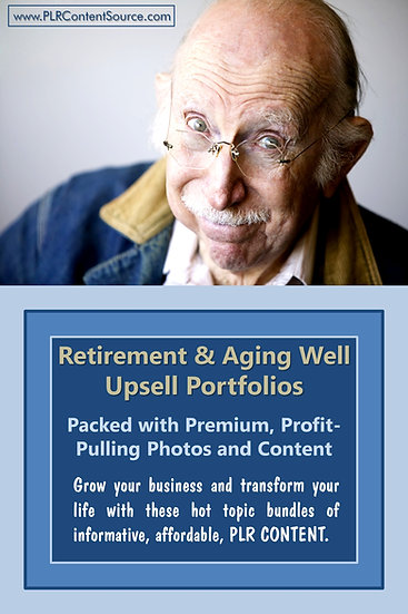 Retirement and Aging Well Upsell Content Collection