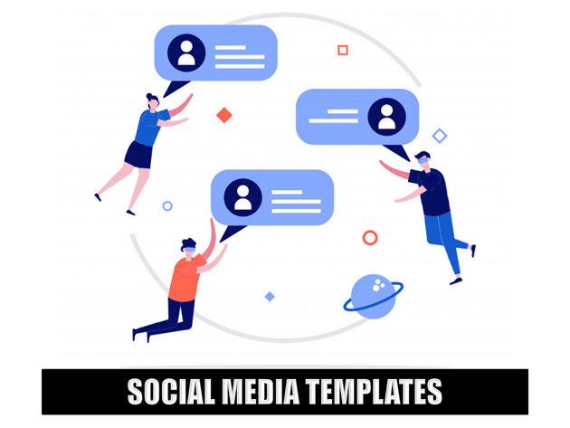 Ready Made Social Media Templates