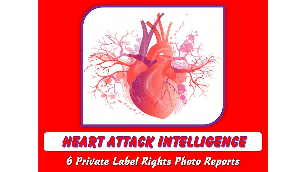 Heart Attack Intelligence Private Label Content Pack