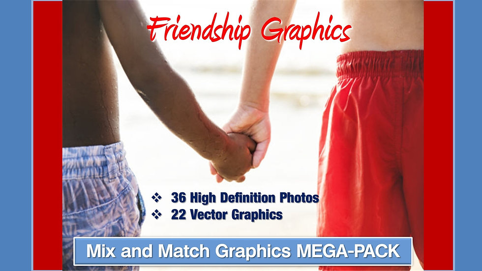 Friendship Mix and Match GRAPHICS Collection