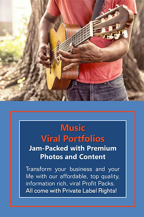 Music PLR Products and Content