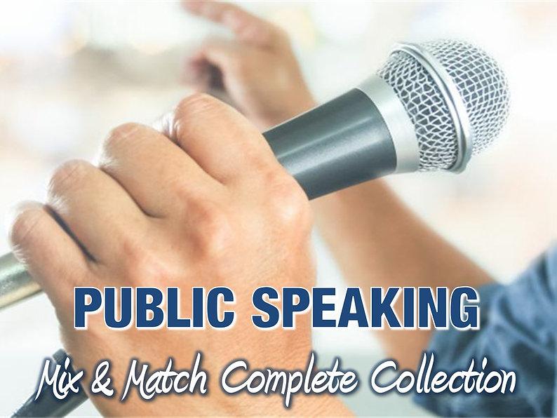 Public Speaking Conten Collection