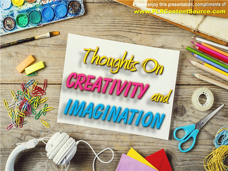 Creativity and The Mind Photo Quote Collection