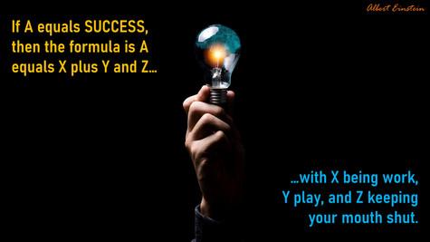 If A Equals Success