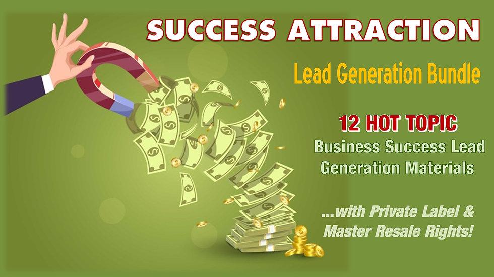 Success Attraction Lead Generation Bundle