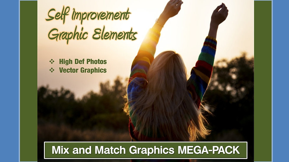 Self Improvement Mix and Match GRAPHICS Collection