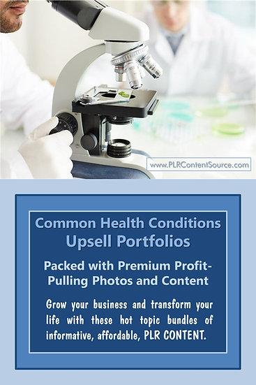 Common Health Conditions Upsell Content Collection