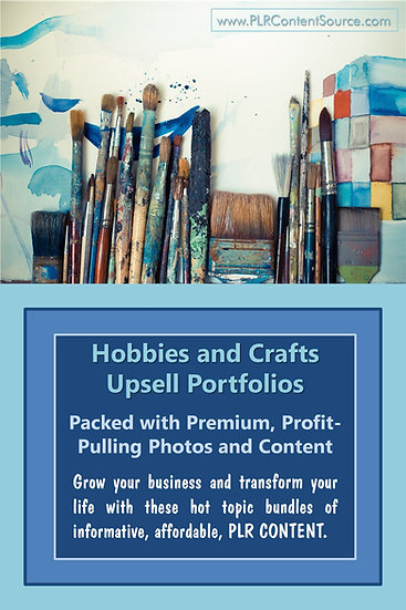 Hobbies and Crafts Upsell Content Collection