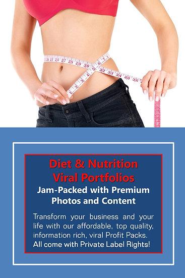 Diet and Nutrition Niche Domination Pack