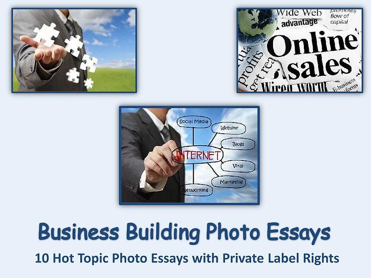 10 PLR Business Building Photo Essays