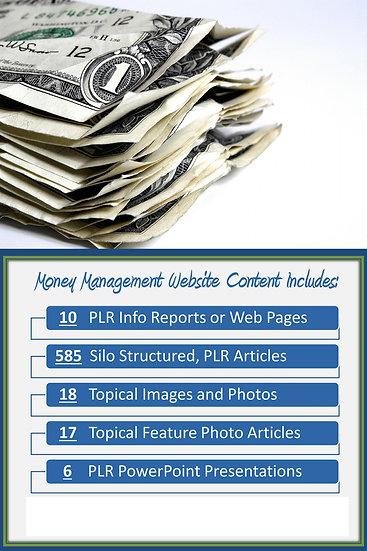 Money Management Turnkey Content Sites