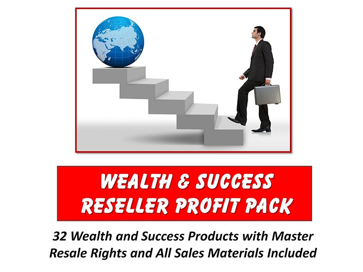 Wealth and Success Reseller Profit Pack