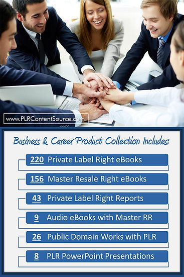 Business and Career Product Profit Packs
