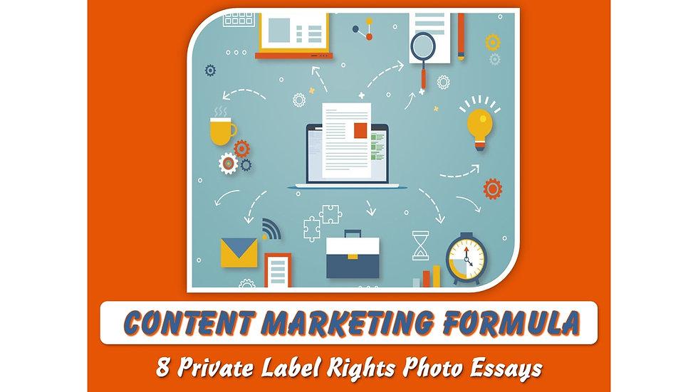 Content Marketing Formula Private Label Content Pack