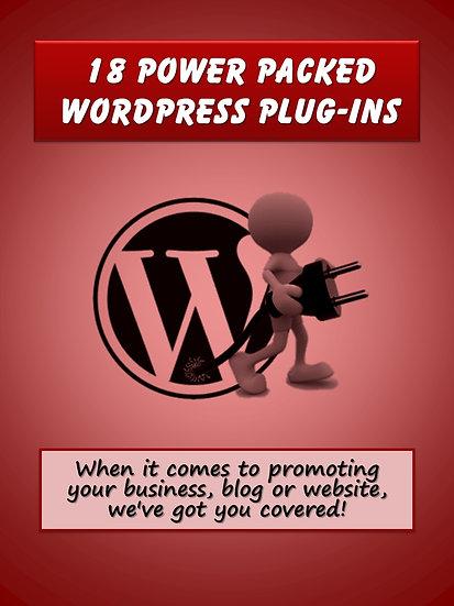 18 Power-Packed WordPress Plug-Ins