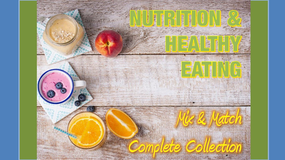 Nutrition Mix and Match COMPLETE Collection